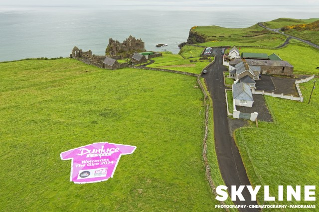 Giro D'Italia, Northern Ireland, Dunluce Castle